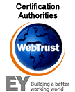 WebTrust Trust Services Criteria for CAs seal
